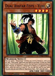 Dual Avatar Fists - Yuhi - PHRA-EN014 - Super Rare