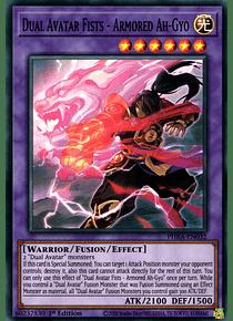 Dual Avatar Fists - Armored Ah-Gyo - PHRA-EN032 - Super Rare