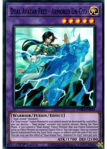 Dual Avatar Feet - Armored Un-Gyo - PHRA-EN033 - Super Rare