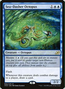 Sea-Dasher Octopus - IKO - R