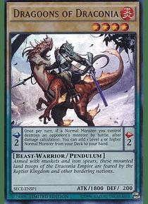 Dragoons of Draconia SECE-ENSP1 - Super Rare