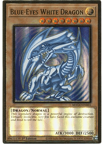 Blue-Eyes White Dragon - MAGO-EN001 - Premium Gold Rare