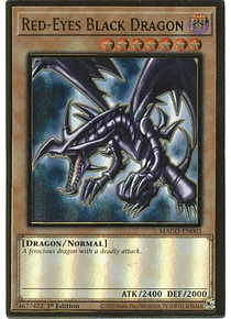 Red-Eyes Black Dragon - MAGO-EN003 - Premium Gold Rare