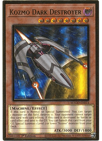 Kozmo Dark Destroyer - MAGO-EN014 - Premium Gold Rare