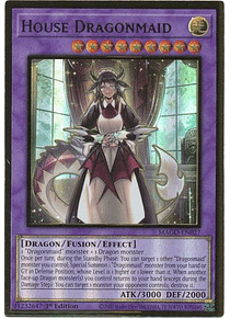 House Dragonmaid - MAGO-EN027 - Premium Gold Rare