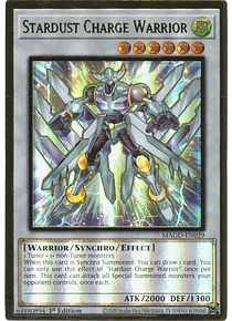 Stardust Charge Warrior - MAGO-EN029 - Premium Gold Rare