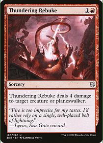 Thundering Rebuke - ZNR - U