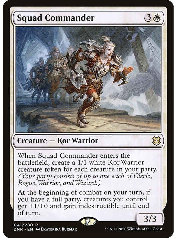 Squad Commander - ZNR - R