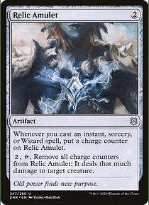 Relic Amulet - ZNR - U