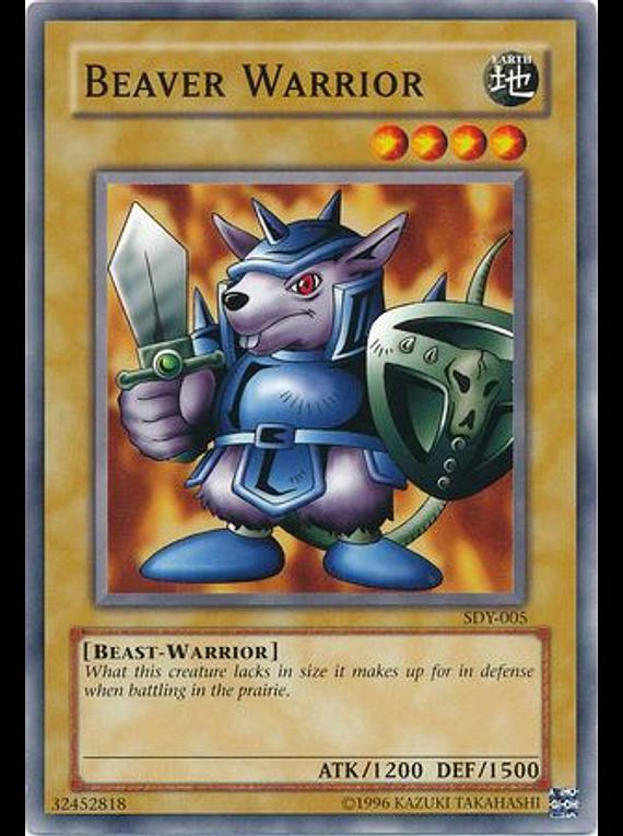 Beaver Warrior - SDY-005 - Common