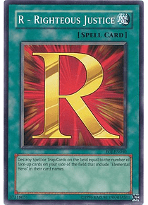 R - Righteous Justice - EOJ-EN040 - Common