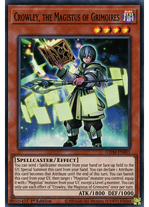 Crowley, the Magistus of Grimoires - GEIM-EN001 - Super Rare