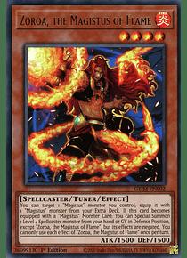 Zoroa, the Magistus of Flame - GEIM-EN002 - Ultra Rare