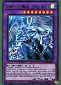 Aiwass, the Magistus Spell Spirit - GEIM-EN005 - Super Rare