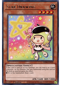 Star Drawing - GEIM-EN039 - Rare