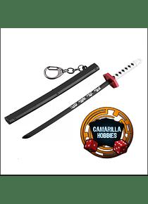 Kimetsu No Yaiba - Demon Slayer Llavero 17 Cm de Largo Modelo 11 (preventa)