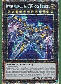 Divine Arsenal AA-ZEUS - Sky Thunder - PHRA-EN045 - Starlight Rare