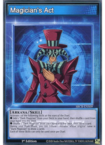 Magician's Act - SBCB-ENS09 - Common