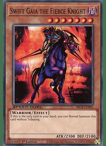 Swift Gaia the Fierce Knight - SBCB-EN005 - Common