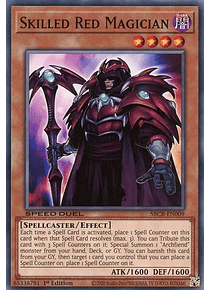 Skilled Red Magician - SBCB-EN009 - Common