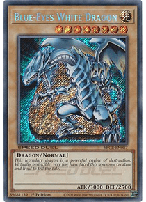 Blue-Eyes White Dragon - SBCB-EN087 - Secret Rare