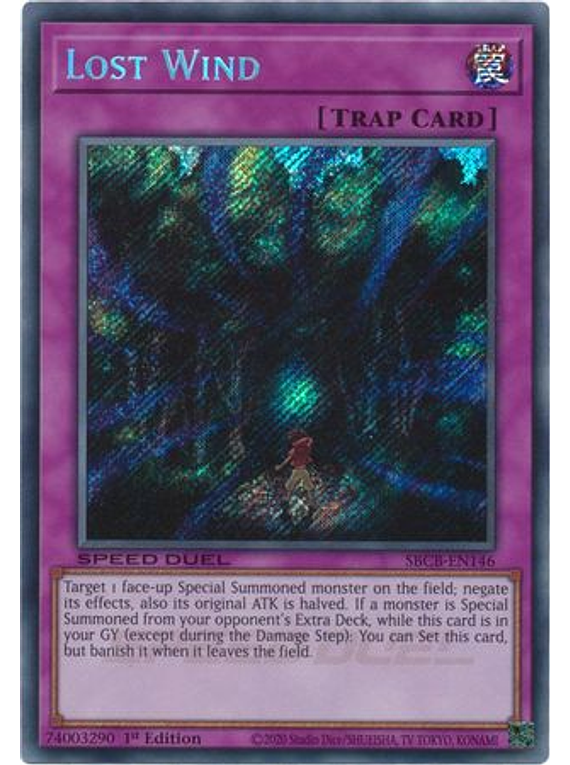 Lost Wind - SBCB-EN146 - Secret Rare