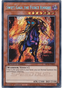 Swift Gaia the Fierce Knight - SBCB-EN005 - Secret Rare