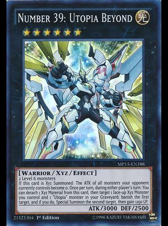 Number 39: Utopia Beyond - MP15-EN188 - Super Rare