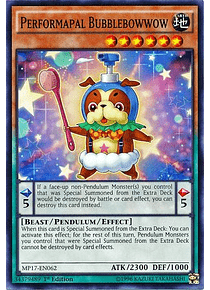 Performapal Bubblebowwow - MP17-EN062 - Common