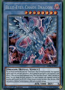 Blue-Eyes Chaos Dragon - LDS2-EN017 - Secret Rare