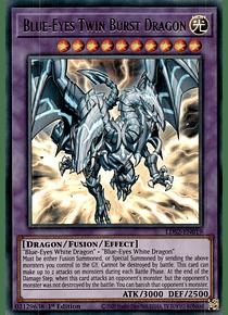 Blue-Eyes Twin Burst Dragon - LDS2-EN019 - Ultra Rare