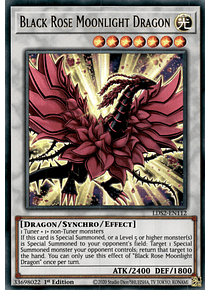 Black Rose Moonlight Dragon - LDS2-EN112 - Ultra Rare