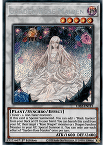 Garden Rose Maiden - LDS2-EN113 - Secret Rare