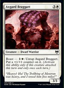 Axgard Braggart  - KHM - C