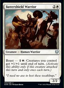 Battershield Warrior -KHM - U
