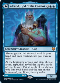 Alrund, God of the Cosmos - KHM - M