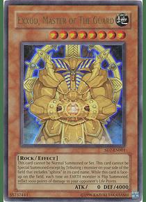 Exxod, Master of the Guard - SD7-EN001 - Ultra Rare