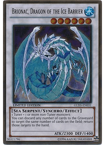 Brionac, Dragon of the Ice Barrier - GLD5-EN031 - Gold Rare