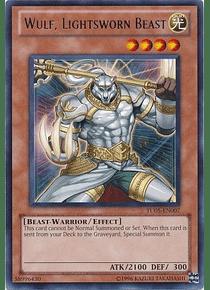 Wulf, Lightsworn Beast - TU05-EN007 - Rare