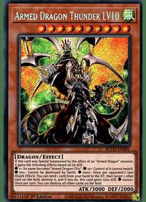 Armed Dragon Thunder LV10 - BLVO-EN001 - Secret Rare