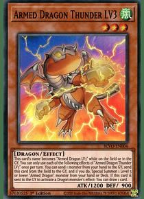 Armed Dragon Thunder LV3 - BLVO-EN004 - Super Rare