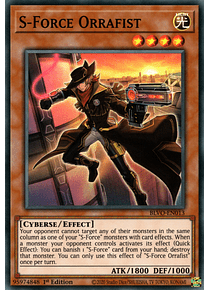 S-Force Orrafist - BLVO-EN013 - Super Rare