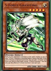 S-Force Gravitino - BLVO-EN014 - Ultra Rare