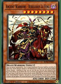 Ancient Warriors - Rebellious Lu Feng - BLVO-EN025 - Super Rare