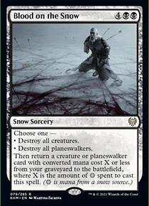 Blood on the Snow - KHM - R