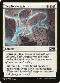 Triplicate Spirits - M15 - C