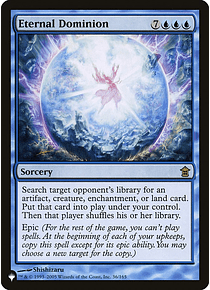 Eternal Dominion - PLIST - R