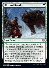 Blizzard Brawl - KHM - U