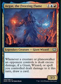 Aegar, the Freezing Flame - KHM - U
