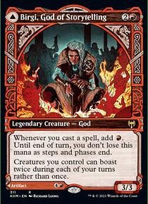 Birgi, God of Storytelling - KHM - R